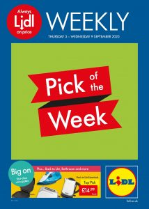 LIDL Offers This Week 3rd Sep to 9th Sep 2020 Preview