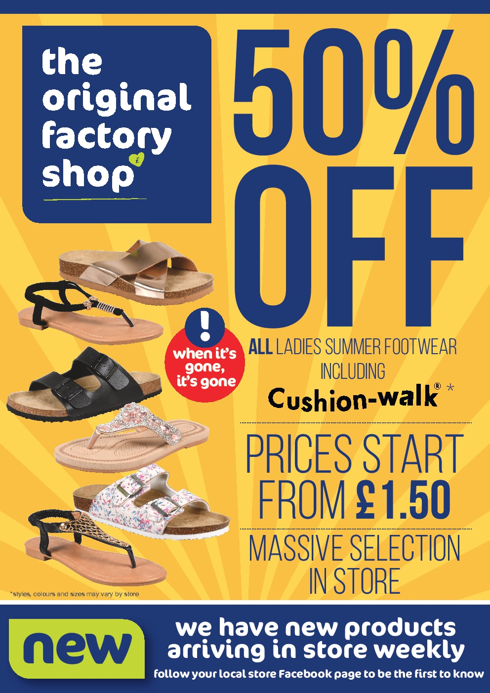The Original Factory Shop Offers 27th August to 9th September 2020