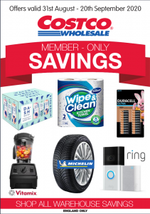 Costco Offers 31st August to 20th September 2020 Costco Online Wholesale