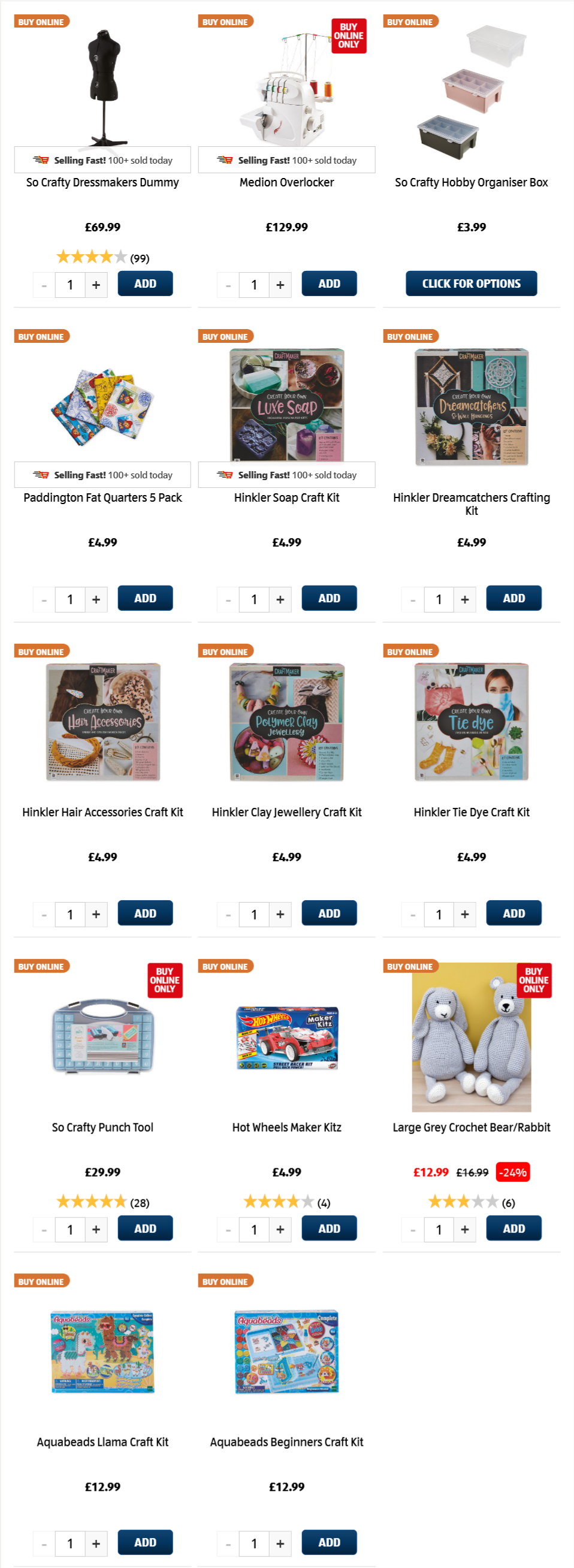 ALDI Thursday Offers 11th February 2021 ALDI Hobbies & Crafts