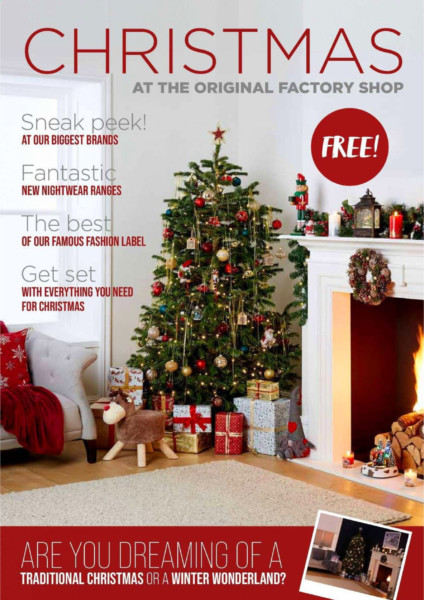 The Original Factory Shop Offers 7th December - 24th December 2020 Christmas Offers