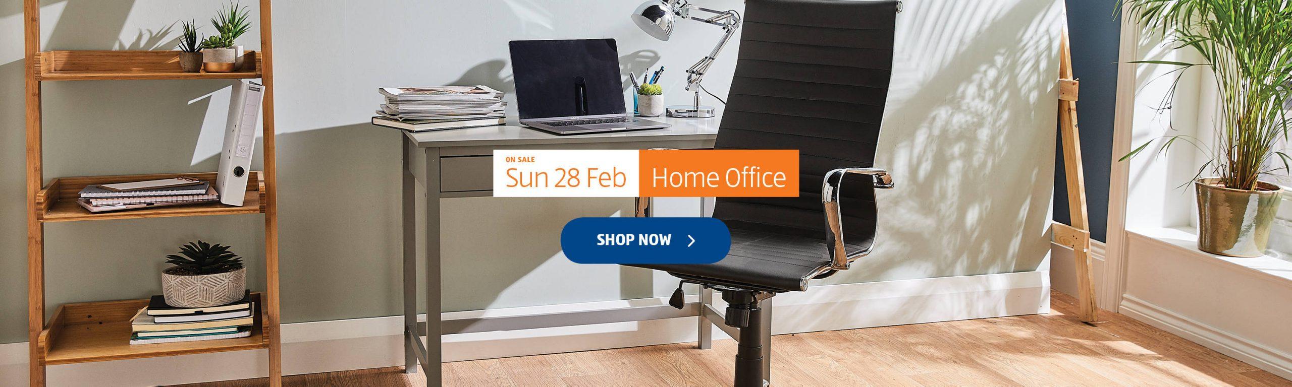 ALDI Sunday Offers 28th February 2021 ALDI Home Office