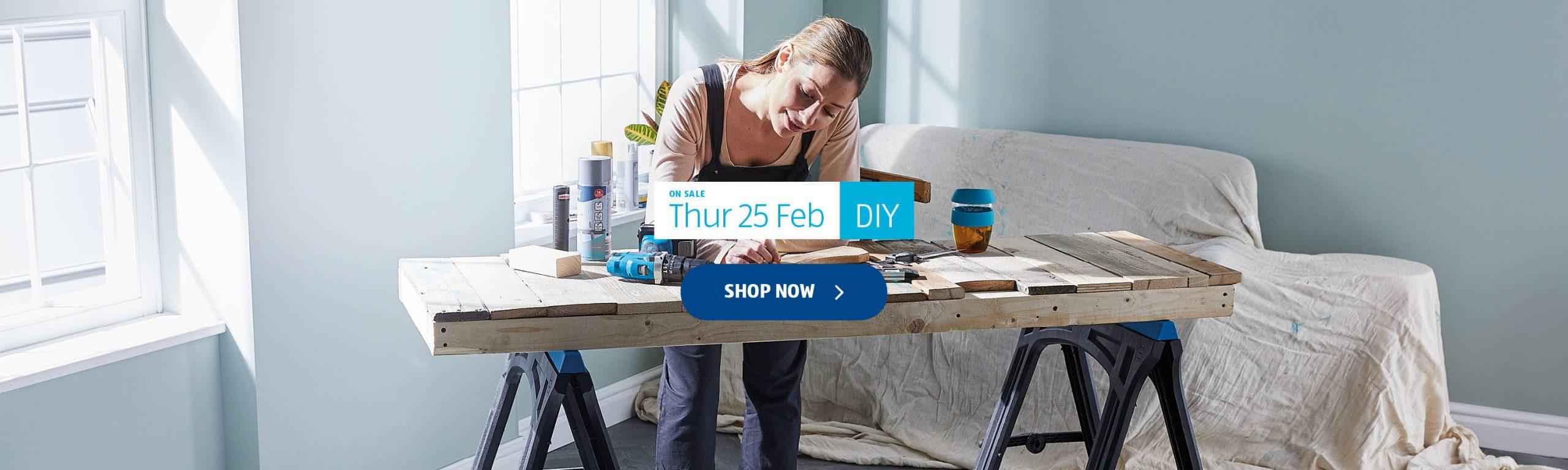 ALDI Thursday Offers 25th February 2021 ALDI DIY
