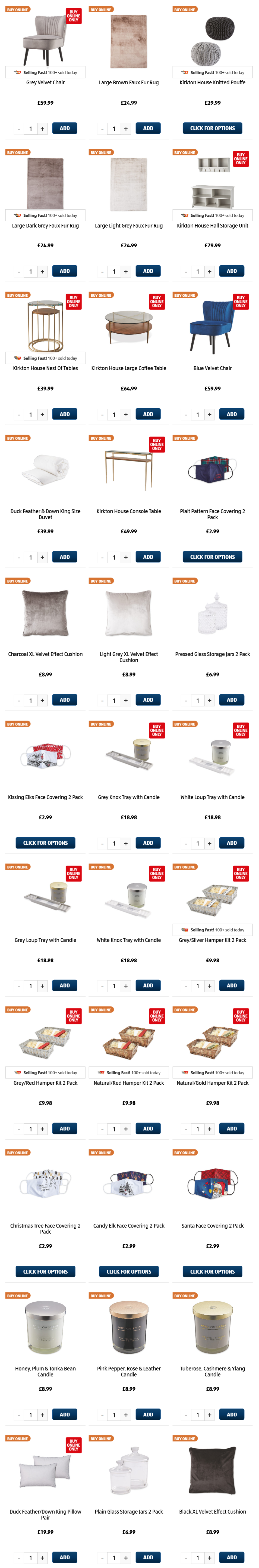 ALDI Thursday Offers 19th November 2020 ALDI Home Christmas