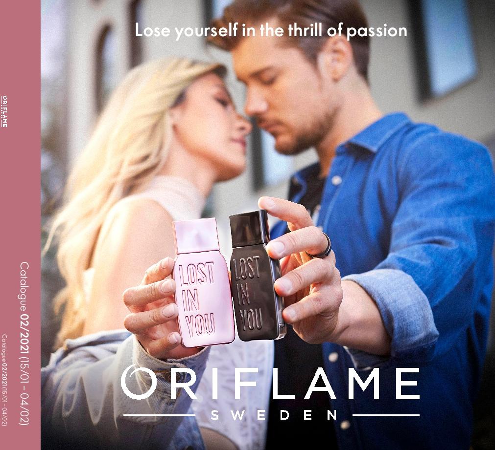 Oriflame Catalogue 15th January – 4th February 2021 Oriflame brochure