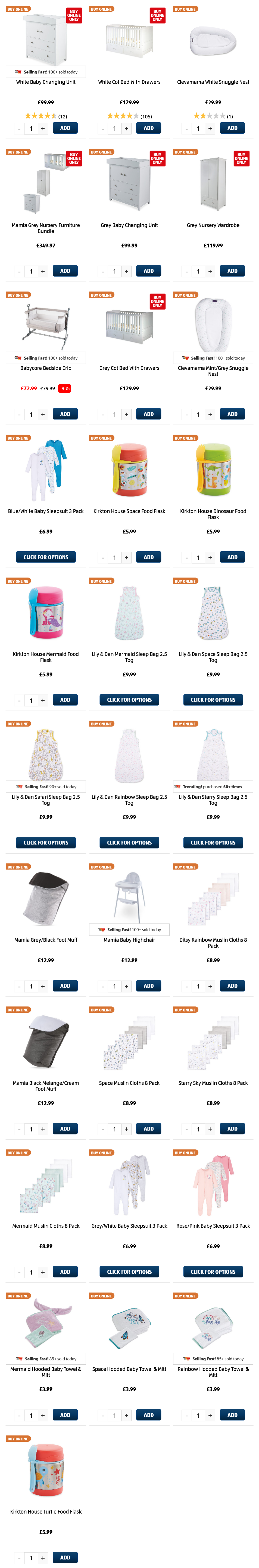 ALDI Thursday Offers 18th February 2021 ALDI Baby & Toddler