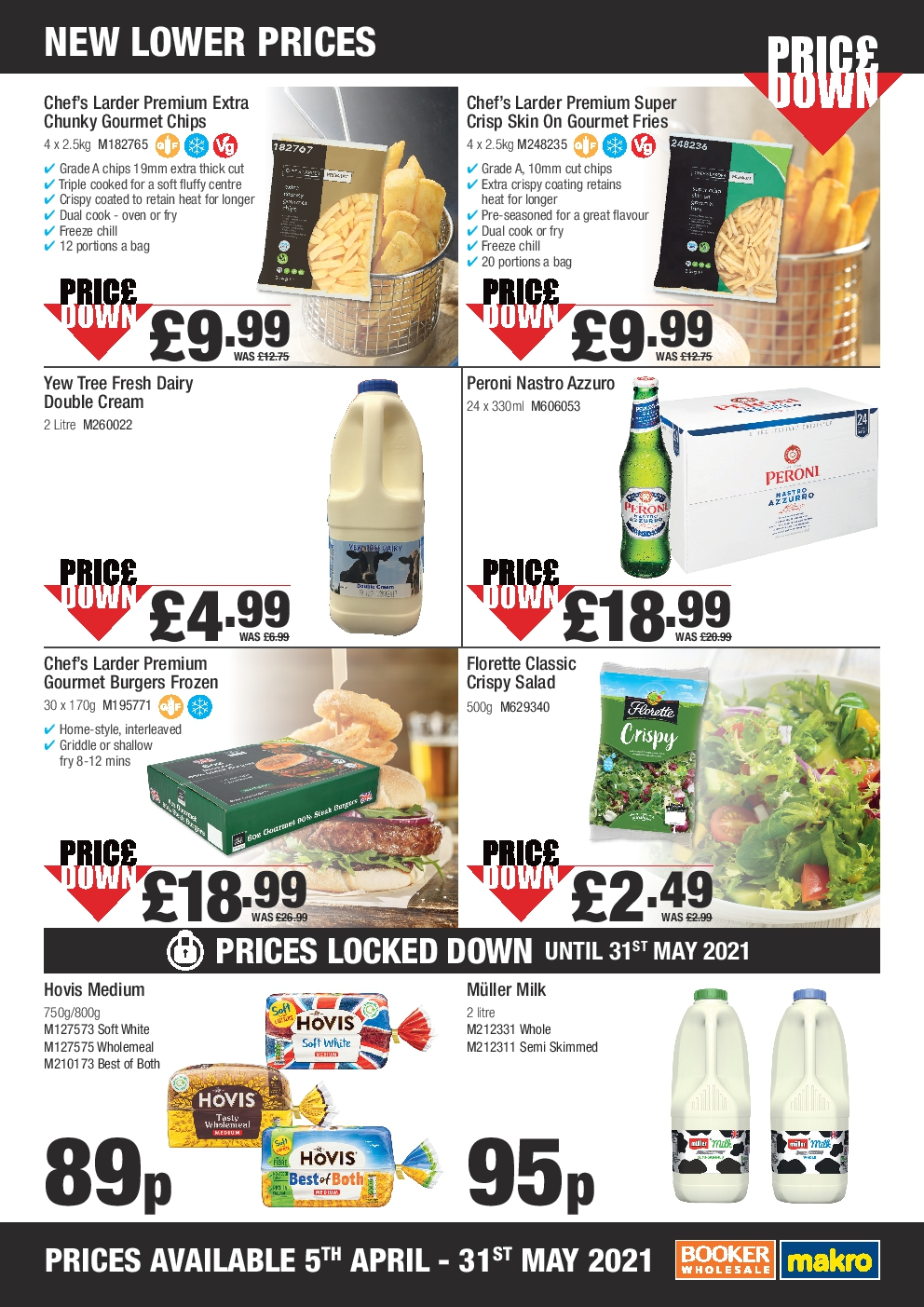Makro Offers this month from 5th Apr - 31st May 2021