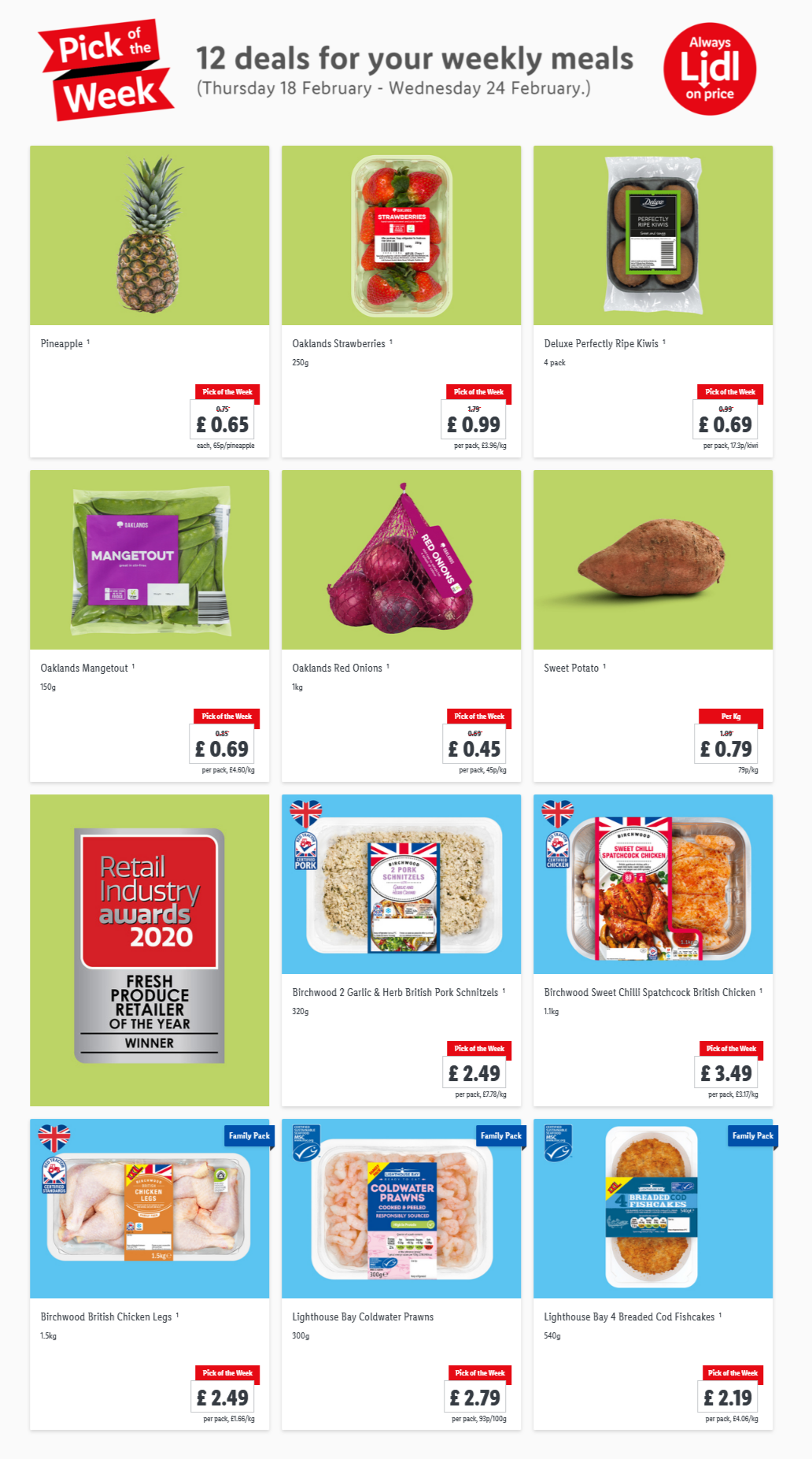 LIDL Pick of The Week 18th February - 24th February 2021 Next Week Preview