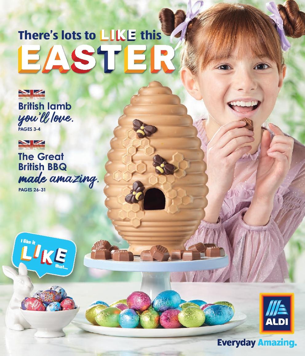 ALDI Easter Brochure 2021 in UK