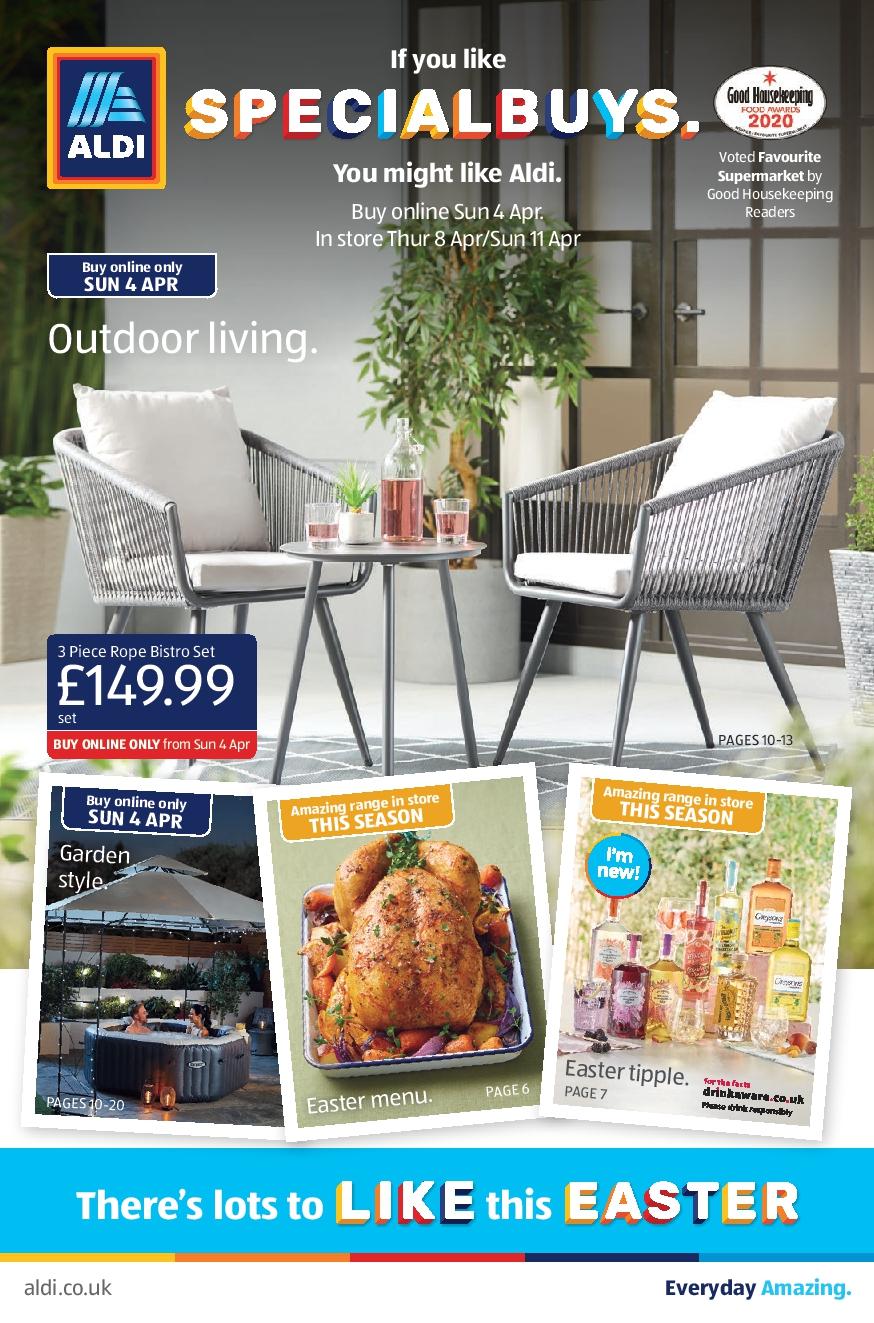 ALDI Leaflet 4th April - 11th April 2021 ALDI Special Buys