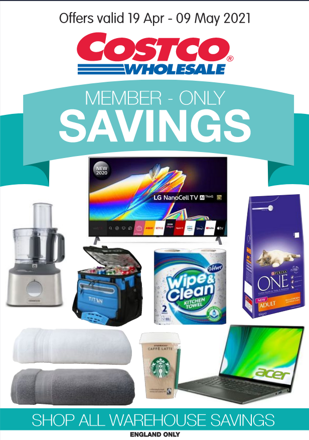 Costco Offers 19th April to 9th May 2021 Costco Member Savings