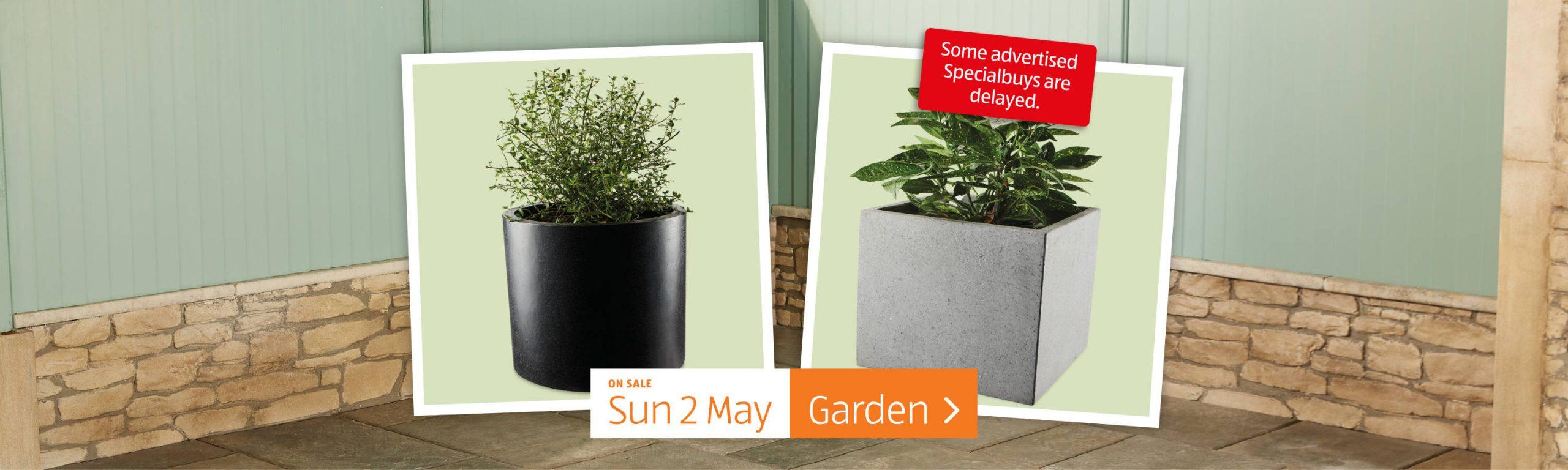 ALDI Sunday Offers Garden 2nd May 2021