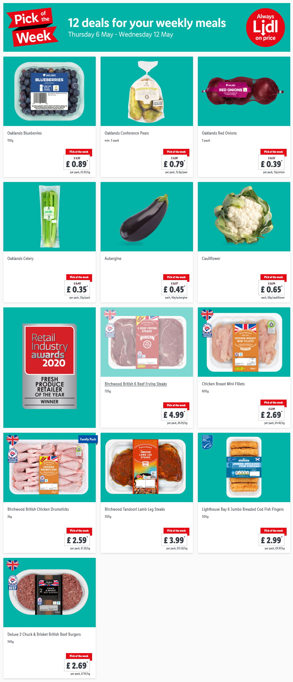 LIDL Pick of The Week 6th May - 12th May 2021 Next Week Preview