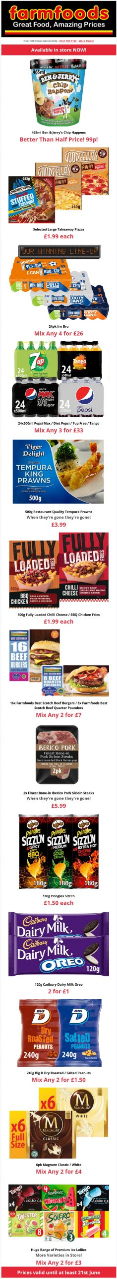 Farmfoods Offers from 9/6/2021 Preview