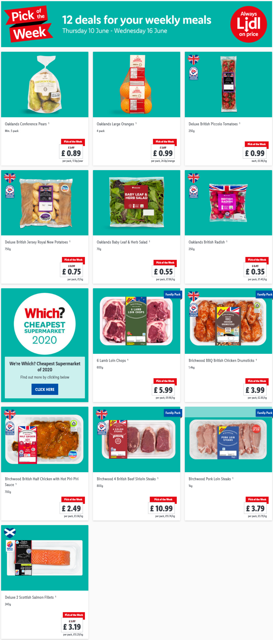 LIDL Pick of The Week 10th June - 16th June 2021 Next Week Preview