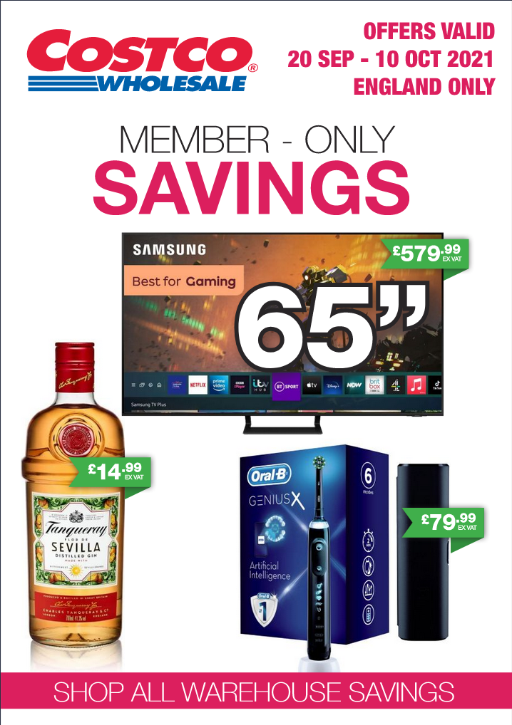 Costco Offers 20th September to 10th October 2021 Costco Online Wholesale