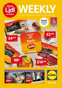 LIDL Offers 30th September to 6th October 2021 Next Week Preview