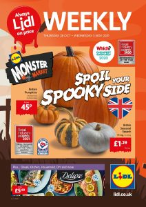 LIDL Offers 28th October to 3rd November 2021 Next Week Preview