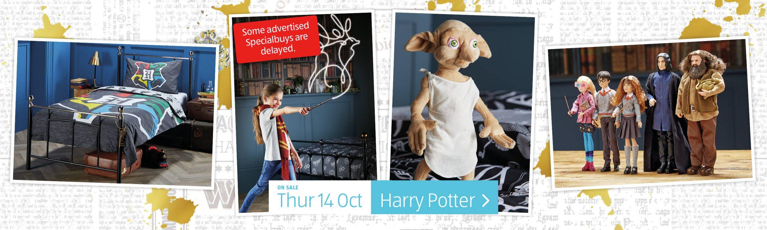 ALDI Thursday Offers 14th October 2021 ALDI Harry Potter